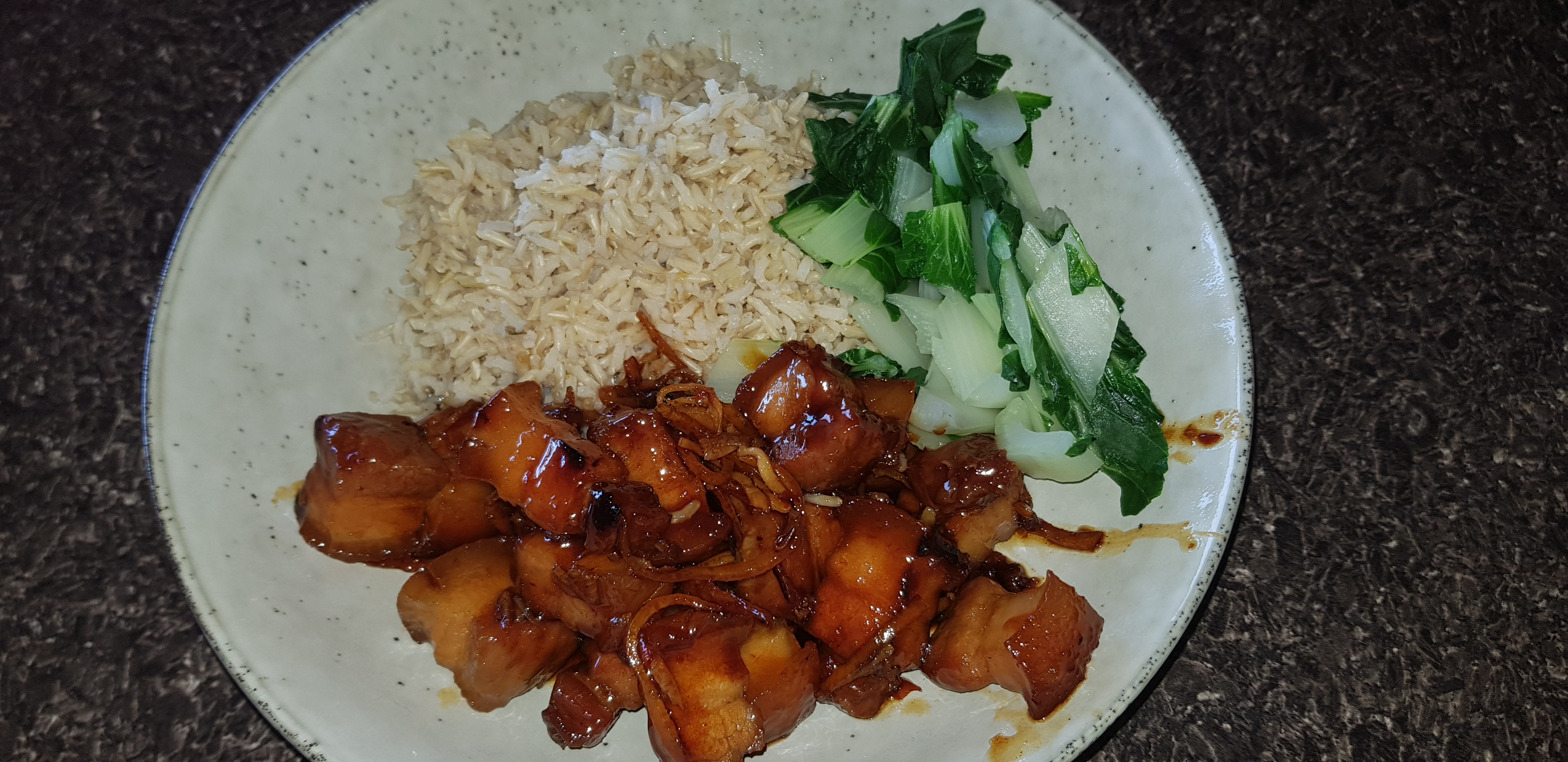 sweet chilli pork