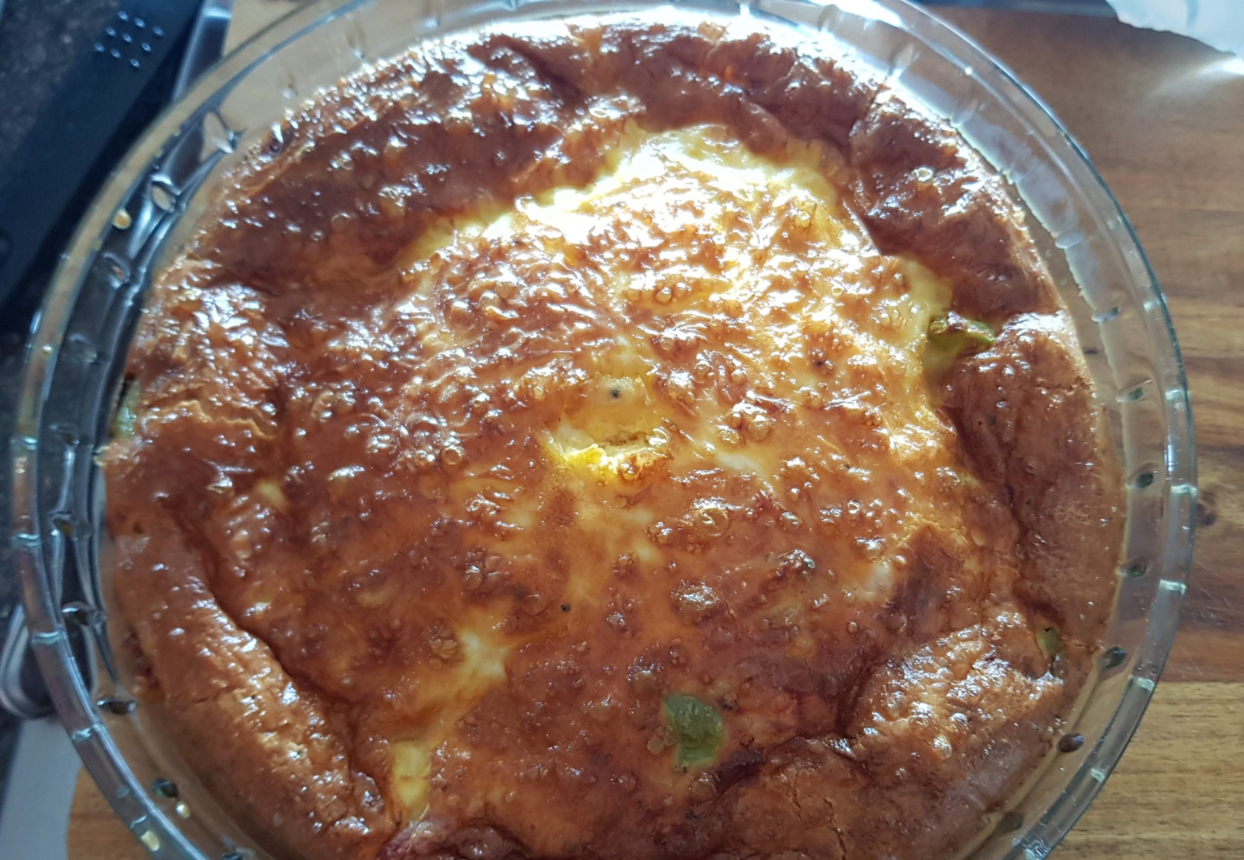 crust less ham quiche