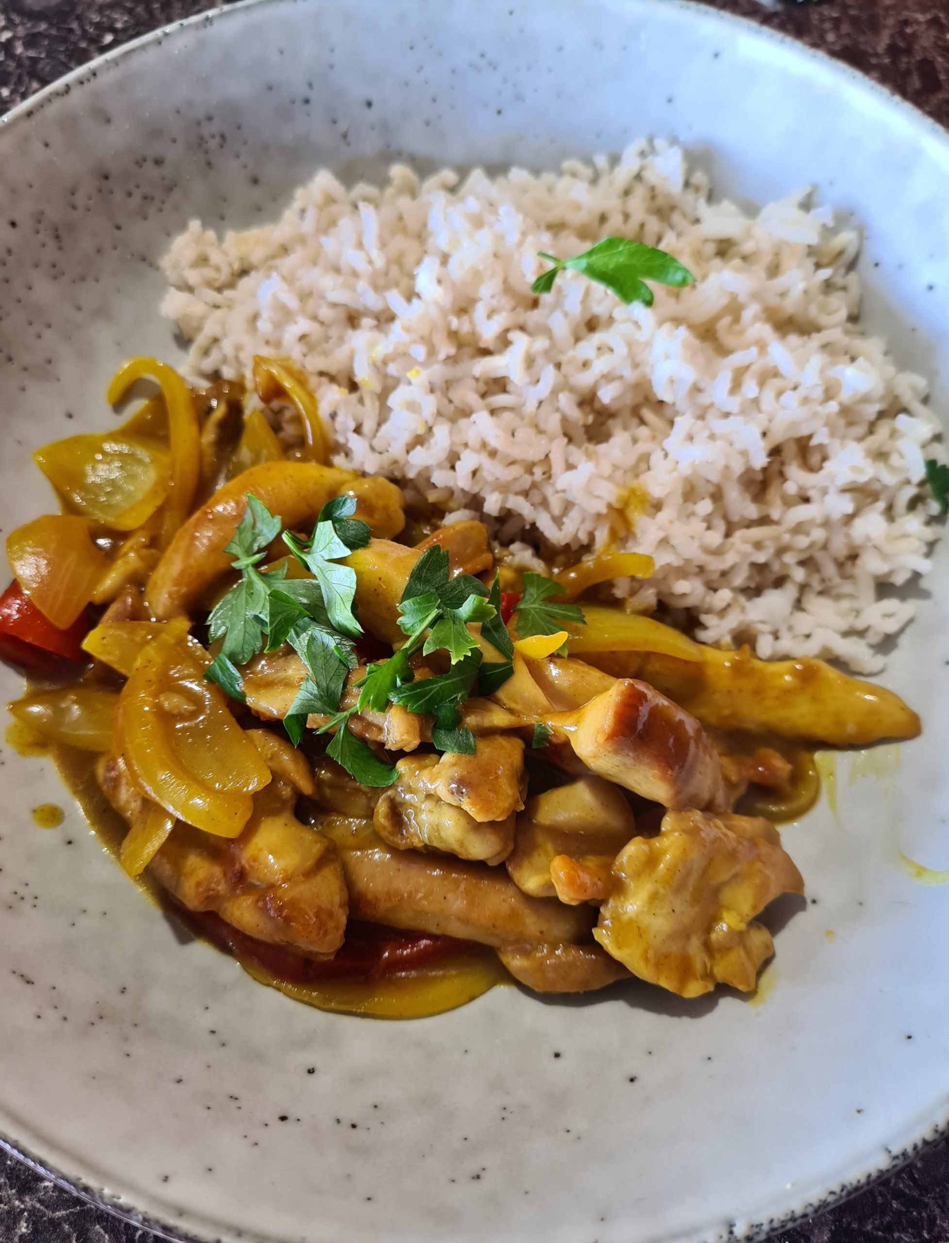 My take on a chicken curry