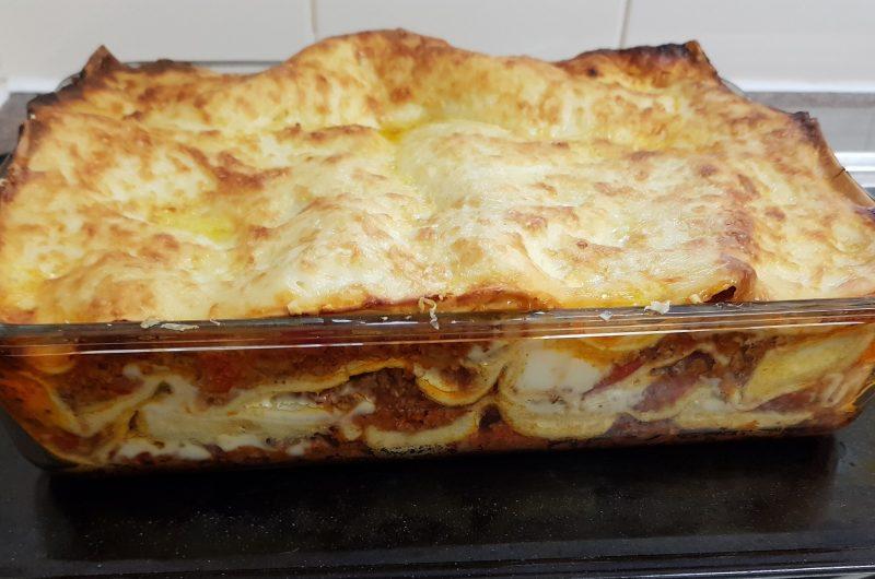 My version of Beef Lasagne