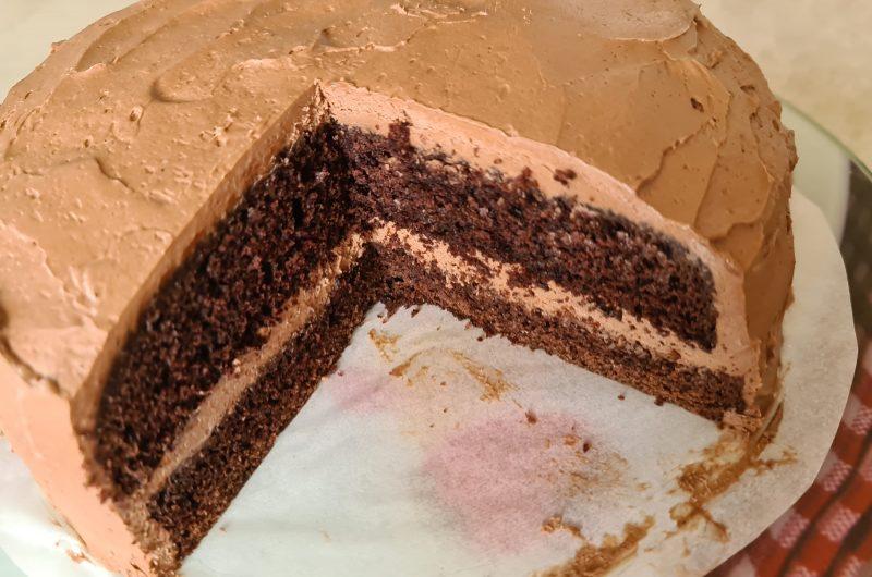 Chocolate Buttermilk Cake