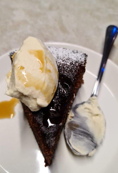coffee syrup cake